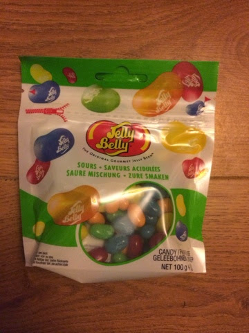 contents of a Degustabox Jelly Belly Jelly beans