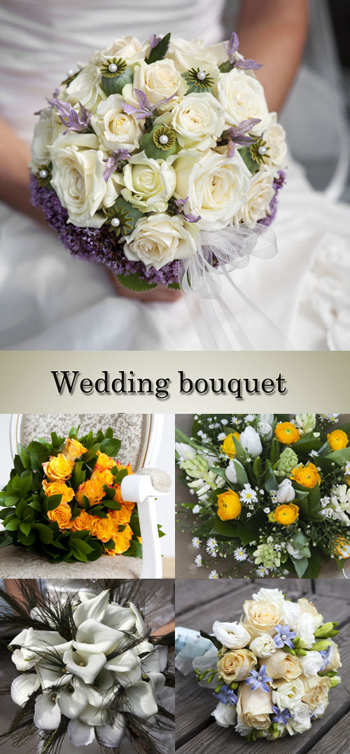 Stock Photo: Wedding bouquet 13