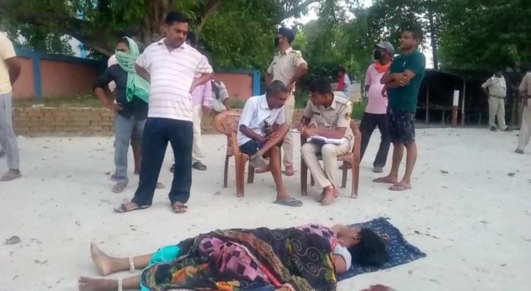समस्तीपुर में बेखौफ अपराधियों ने महिला को गोली मारकर की हत्या।
