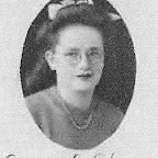Georgia Loraine Gleaves, daughter of Roaky Knox Gleaves in 1945.