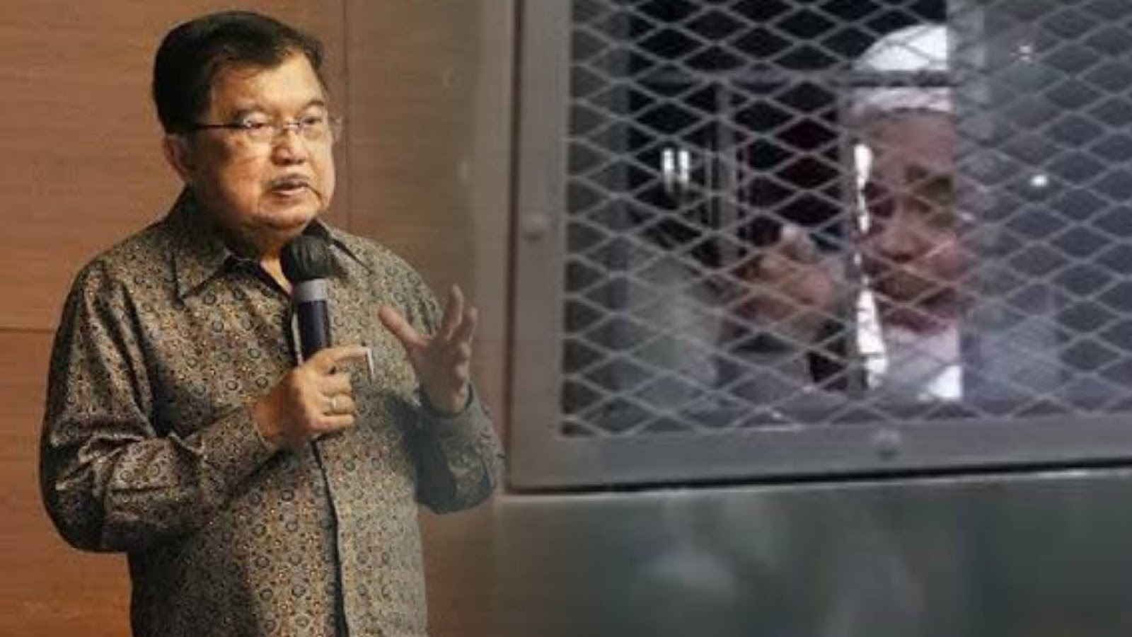 Masuk Penjara 2 Kali, Jusuf Kalla Sebut HRS Orang Taat Hukum