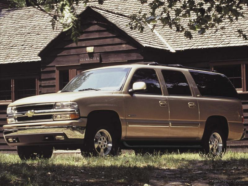 2003 Chevrolet Suburban Suv Specifications  Pictures  Prices