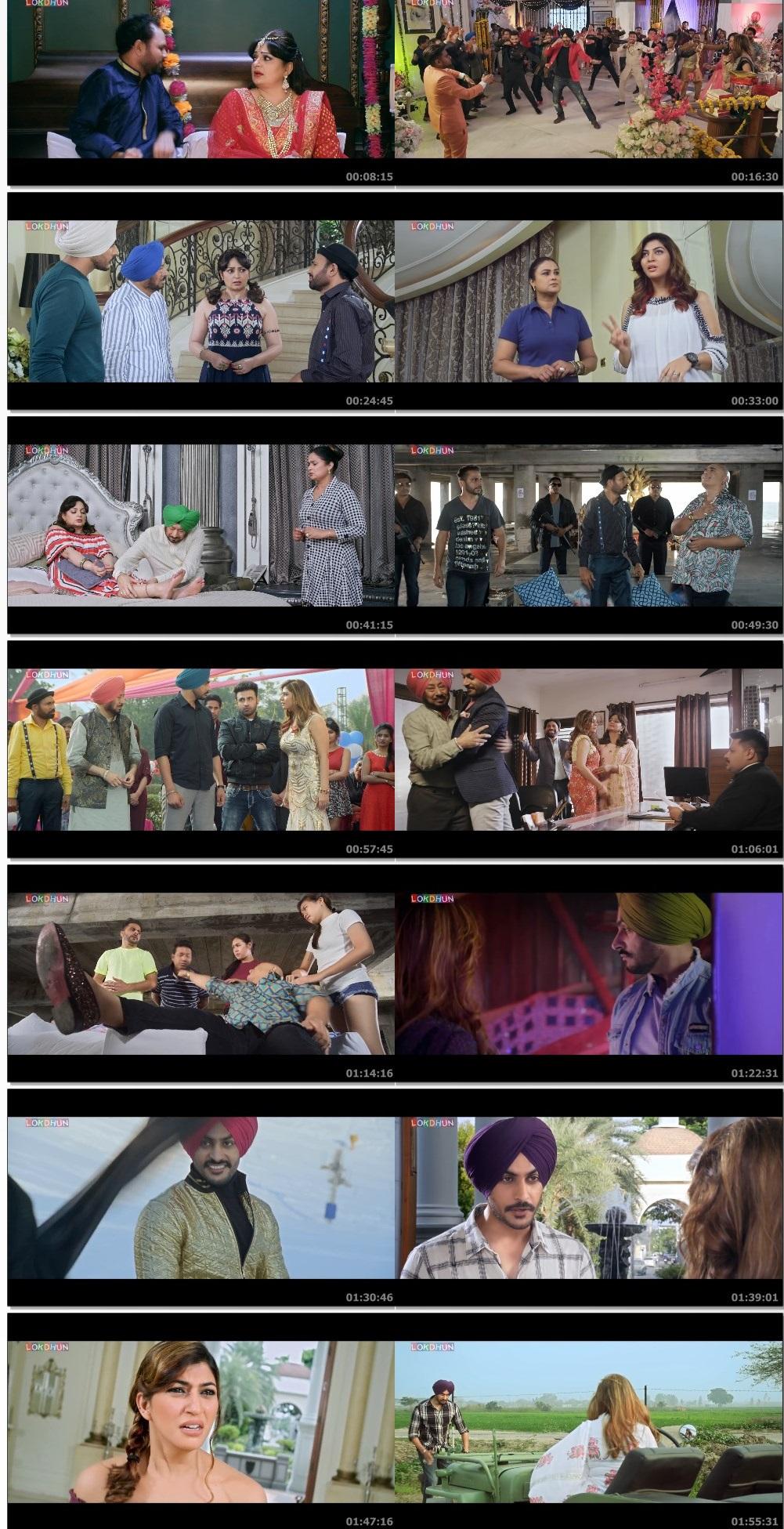 Screen Shot Of Jind Jaan 2019 Full Movie Free Download FHD 1080P Watch Online