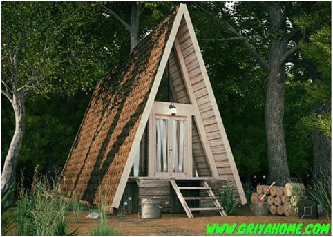 7 Design Rumah Kecil Minimalis Buat Pencinta Alam