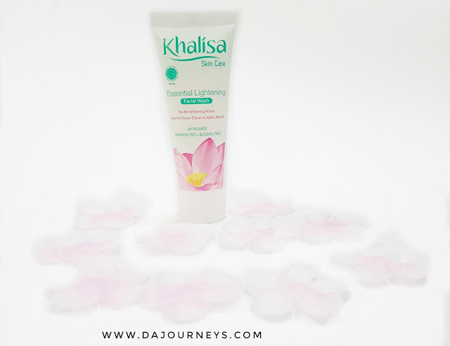 Khalisa Essential Lightening Skin Care Facial Wash