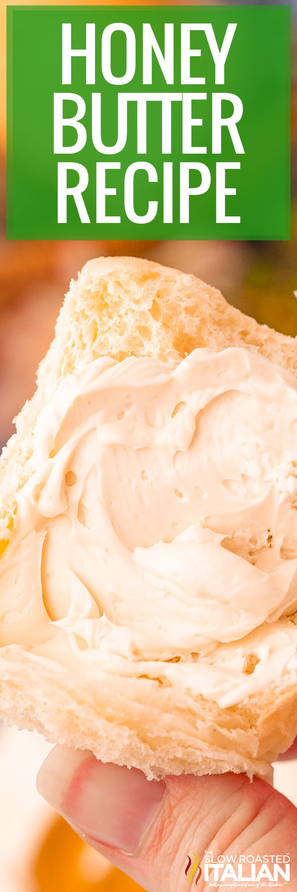Honey Butter Recipe closeup