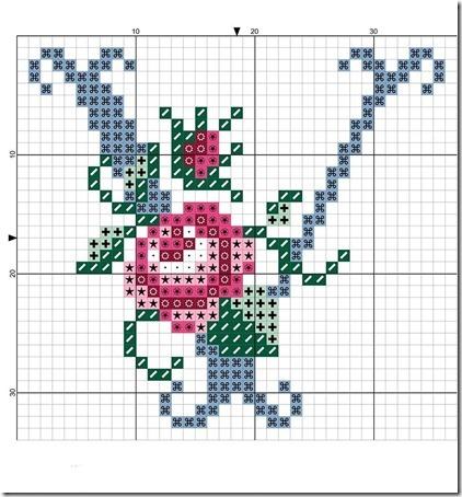 abc punto cruz letras con rosas  (21)