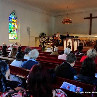 Kalju koguduse jumalateenistus 11.sept 2011