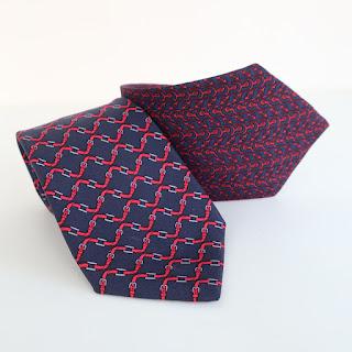 Hermès Equestrian Tie Pair