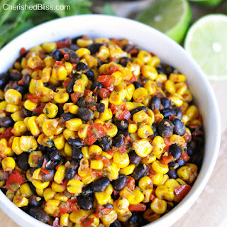 Warm Black Bean and Corn Salsa