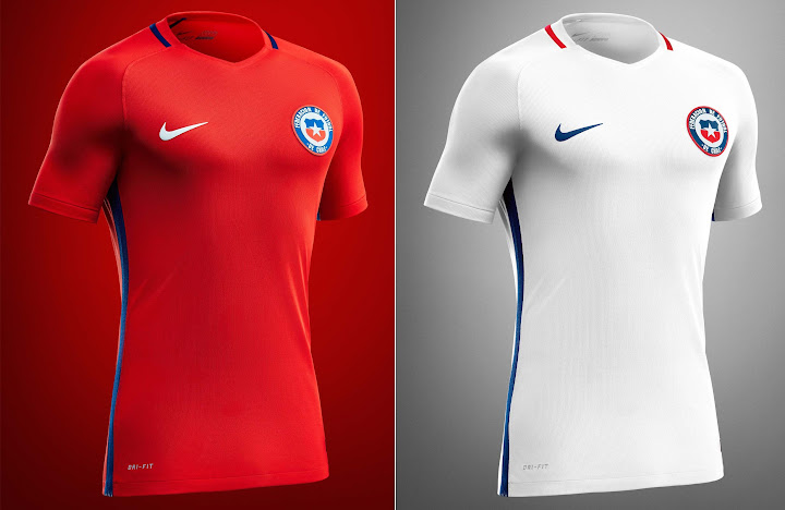 Chile signed a new 8 year kit contract with Nike after 2015 Copa America.  Unlike the earlier reports of Nike not releasing new kits for Chile 2679826872cbe