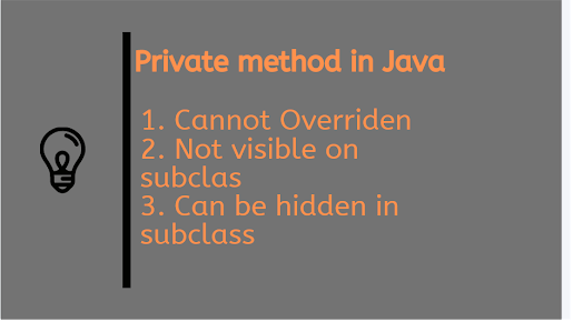 Can You Override Private Method in Java ? Example