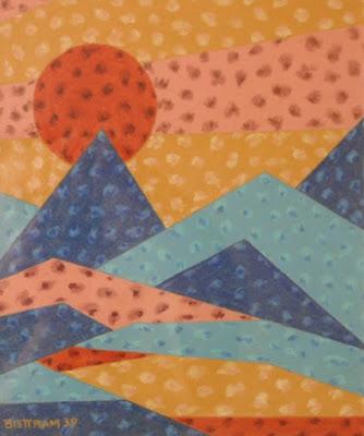 """""""Sunrise Taos Mountain"""""""