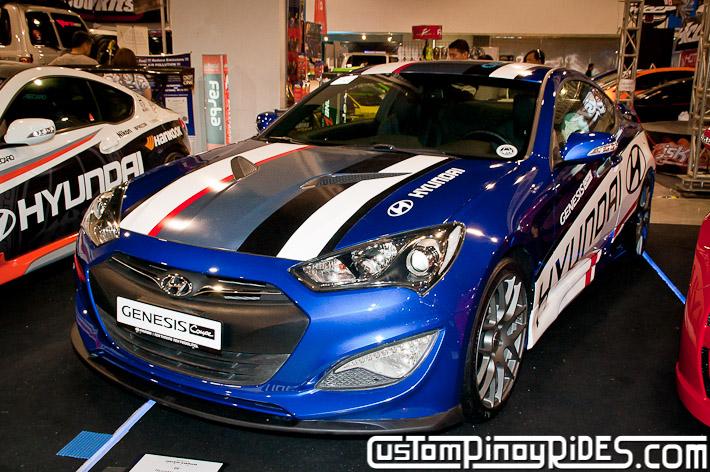 Hyundai Genesis Coupe Body Kit Designs by Atoy Customs 2012 Manila Auto Salon Custom Pinoy Rides pic13