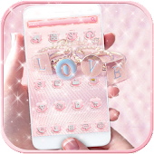 Diamond Rose Gold Pink Theme