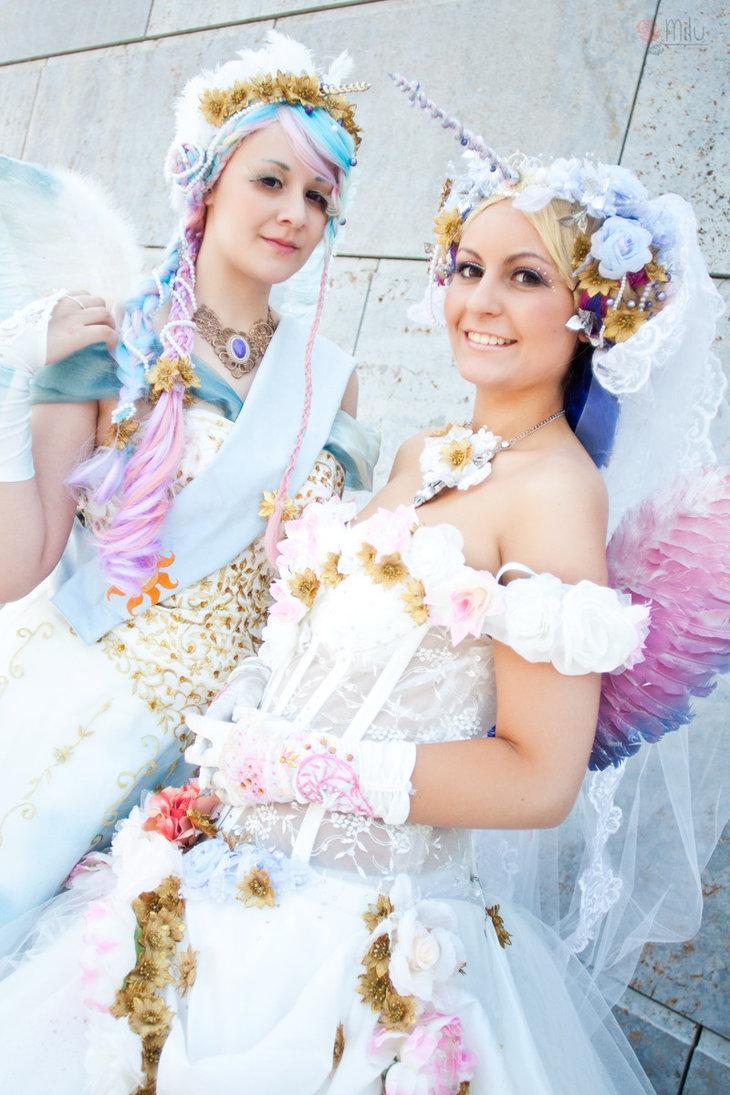 Cosplay Wedding Dress 27 Ideal MLP Princess Celestia and