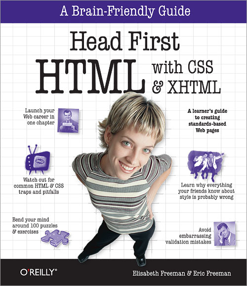 Head First深入淺出HTML、CSS與XHTML