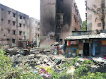 LSP's visit after the fire accident at Thomas Nagar, Teynampet on Aug 20