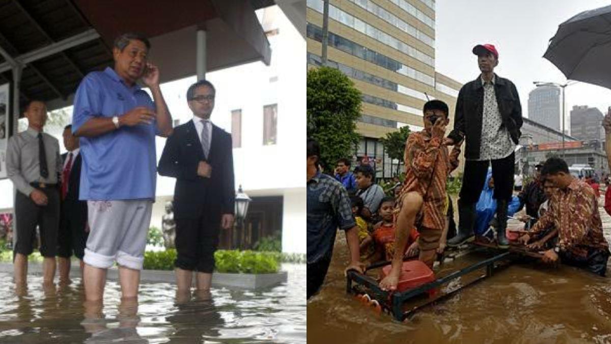 Rocky Gerung: Banjir Paling Parah Itu Ketika Jokowi Gubernur DKI, Istana Sampai Terendam