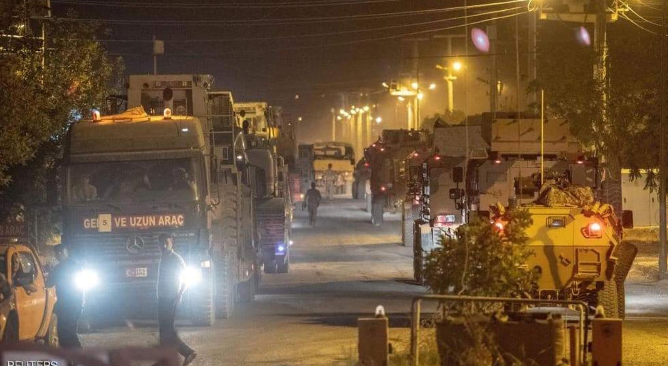 تجاهلت تهديدات ترامب بتدميرها اقتصاديا: تركيا تجتاح سوريا عسكريا !