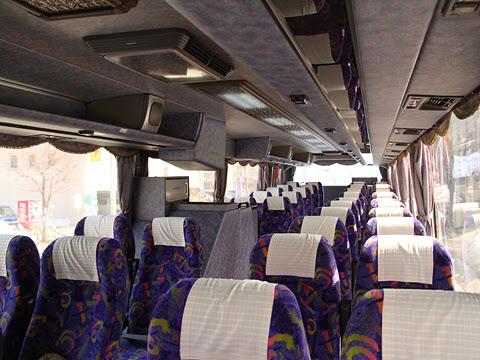 沿岸バス「留萌旭川線」 ・102 車内