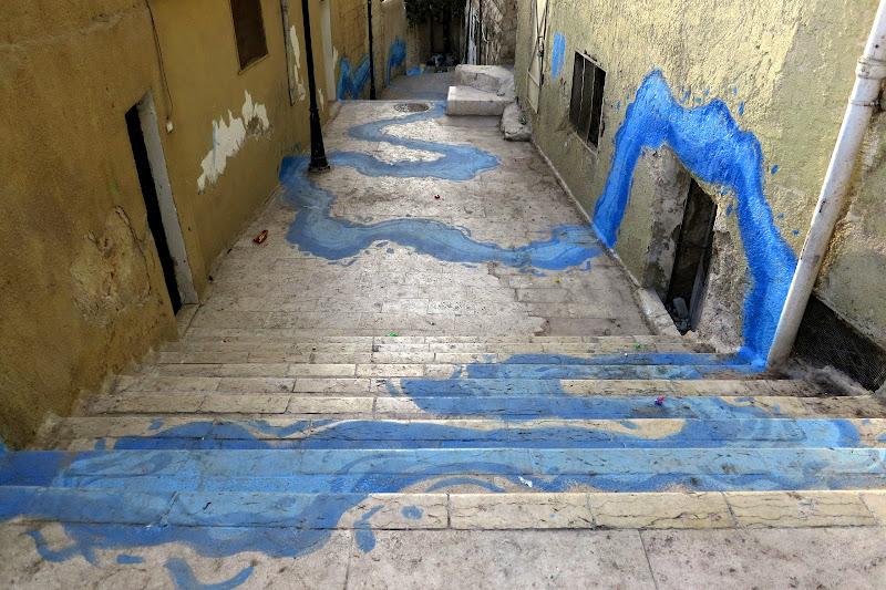 Stairway graffiti