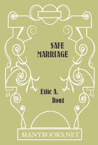 Cover of Ettie Rout's Book Safe Marriage A Return To Sanity
