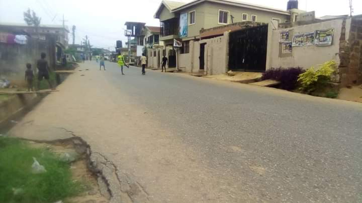 #SitAtHome : All Road In #Anambra State Was Clear (Photos)