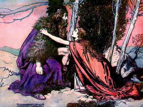 Wotan Reveals His Anguish To Brunhilde, Asatru Gods And Heroes