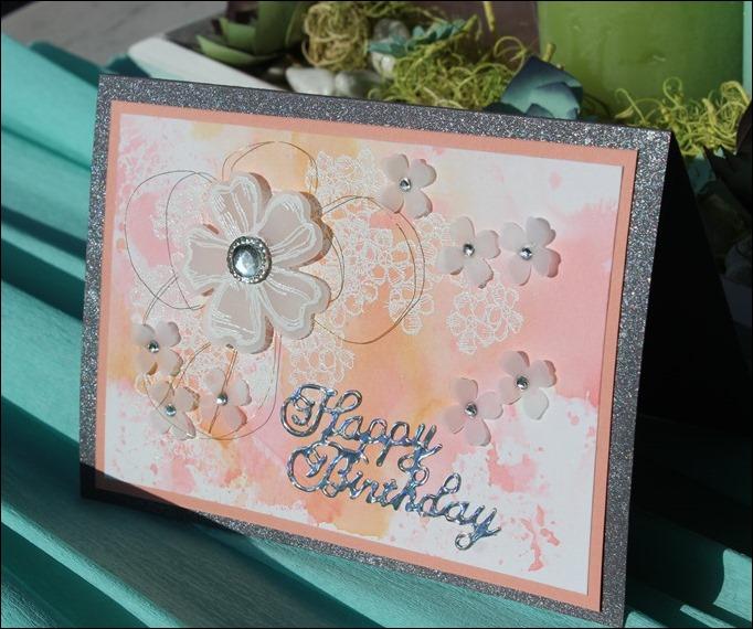 Geburtstagskarte Martina