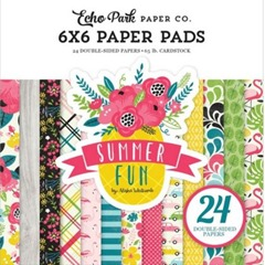 echo park summer fun paper pad