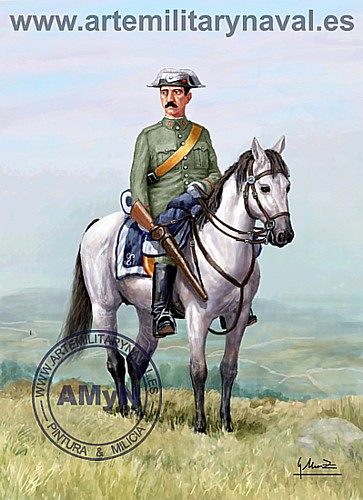 Guardia Civil. Gala 1933