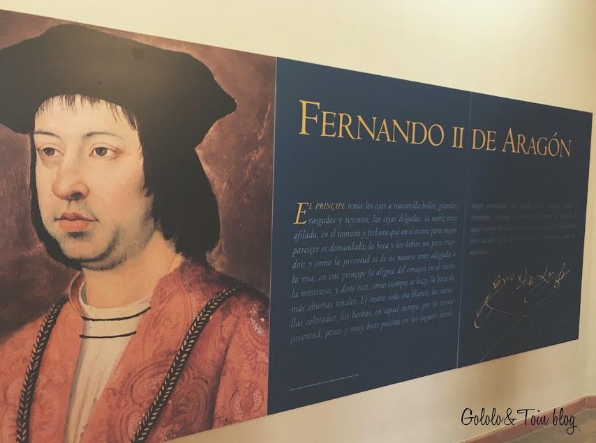 Palacio de los Sada, centro de interpretación de la figura de Fernando el Católico
