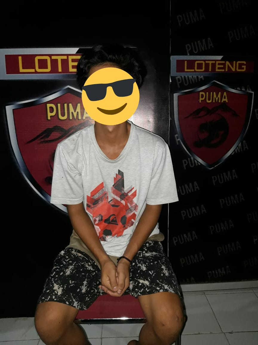 Tim Puma Polres Lombok Tengah Berhasil Amankan Pencuri Laptop