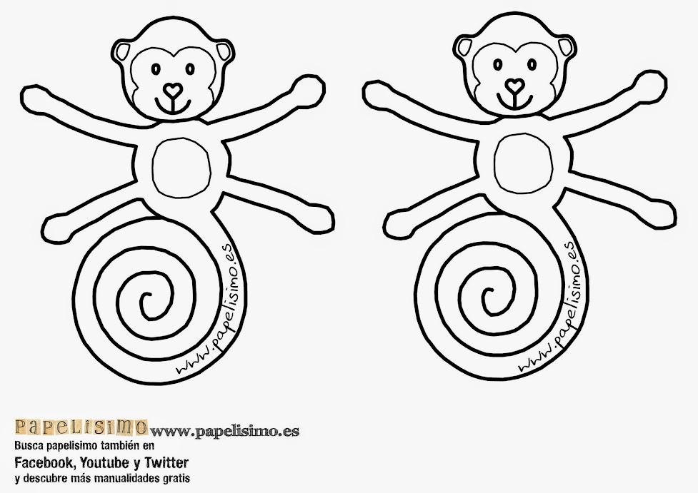 El Mono come Plátanos - PAPELISIMO