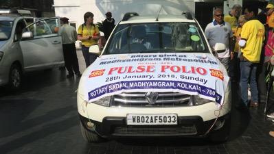 Polio Car