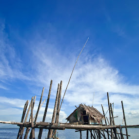 fishing huts by Gustaman Syah - Landscapes Travel