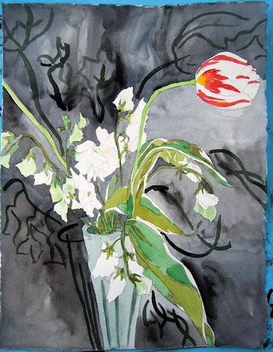 Tulips. Artist Lisa Hsia