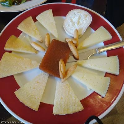 CarouLLou.com Carou LLou in Madrid Spain cheese food+