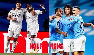 التشكيلة المتوقعة لموقعة ريال مدريد مانشستر سيتي