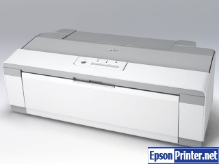 How to reset Epson PX-1004 by application