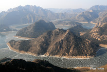 Lac Yansai, retenue de Shihe