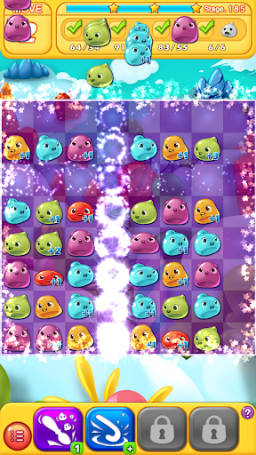Jelly Jelly Crush - In the sky screenshots 5