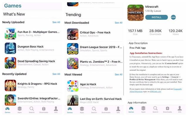 تحميل برنامج iOSGods للايفون