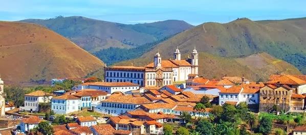 Férias no Estado de Minas Gerais, Brasil