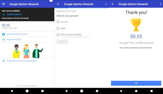 Google Opinion Rewards: Everything you need to know