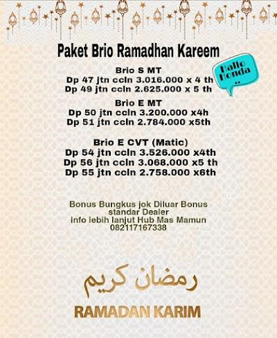 Paket Brio Ramadhan Kareem Murah