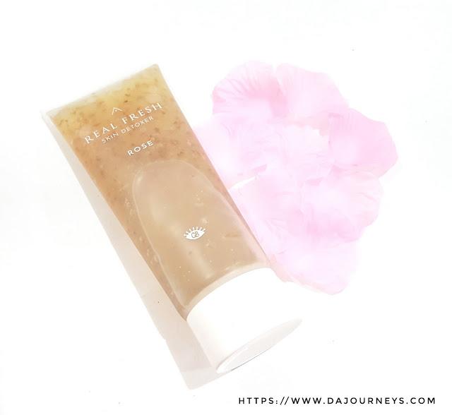 Review Real Fresh Skin Detoxers Rose