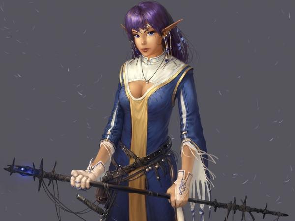 Elven Princecc Mage, Fairies 4