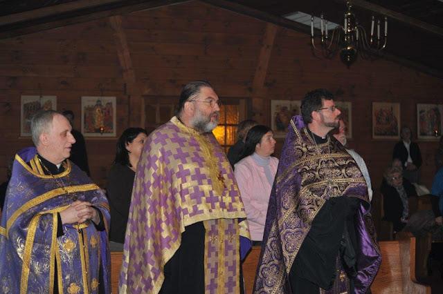 From left: Fr. Wiaczeslaw, Fr. Daniel, Fr. Martin